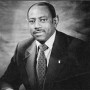 Dr. Walter Washington (Alpha Epsilon Lambda)